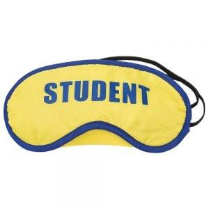 Gul/Blå Ögonbindel Student