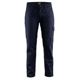 Marinblå/Blå Industribyxa Blåkläder