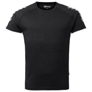 Svart Tränings T-shirt Ted