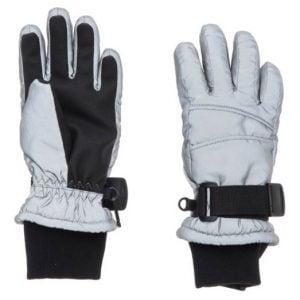 Silver/Svarta Reflexhandskar Vinter