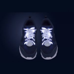 Vita LED-Skosnören Exempel