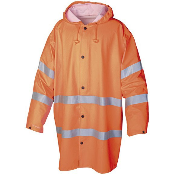Orange Regnrock Varsel