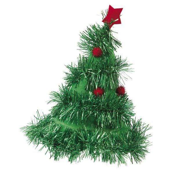Grön Hatt Julgran Jul