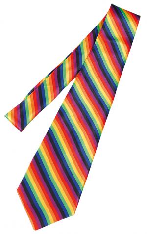 Regnbågsslips Slips Regnbåge Pride