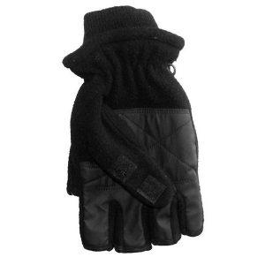 Svarta Torgvantar Fleece