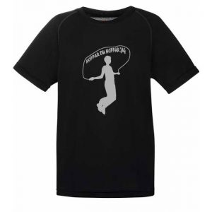 Athena IK Svart Funktions T-Shirt