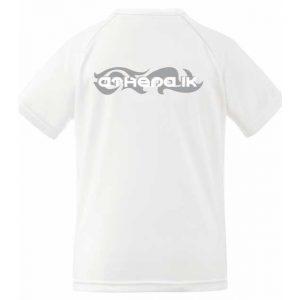 Athena IK Vit Dam Tränings T-Shirt Baksida