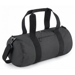 Mörkgrå/Svart Sportbag Reflex Barrel