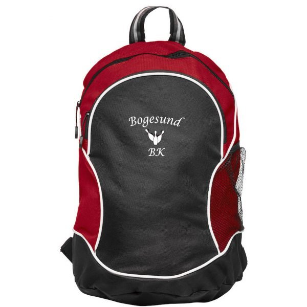 Bogesunds BK Röd/Svart Basic Ryggsäck