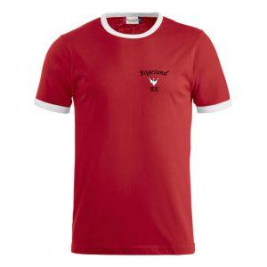 Bogesunds BK Röd/Vit T-shirt