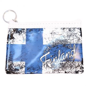 Blå/Vit Necessär Finland