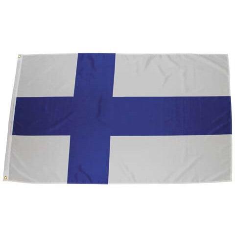 Vit/Blå Finlandsflagga 150*90 cm