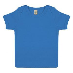 Blå Ekologisk T-shirt