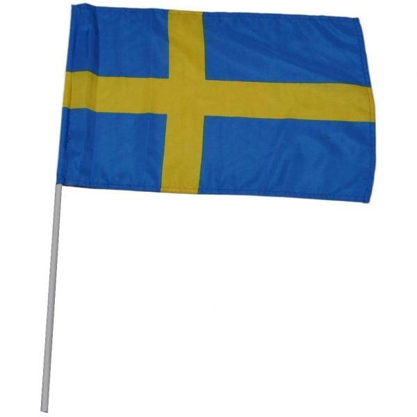 Blå/Gul Handflagga Sverige 30*40 cm