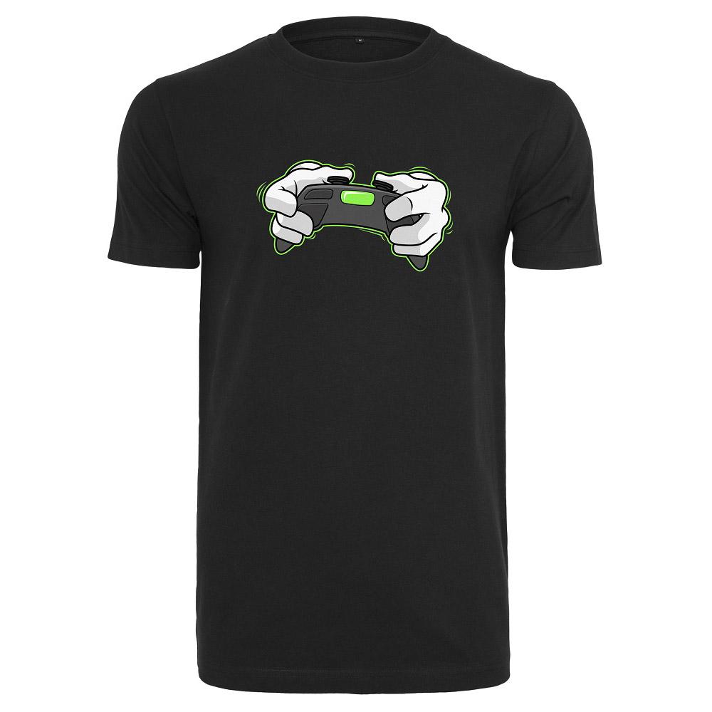 T-shirt Gaming All Day   HerrXSSvart Svart
