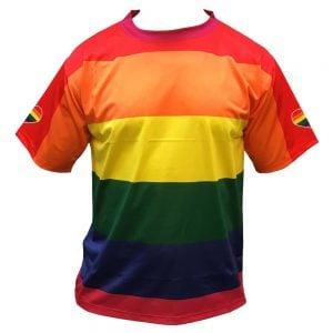 Regnbågströja Funktions T-shirt Regnbåge Pride