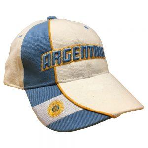 Blå/Vit Argentina Keps
