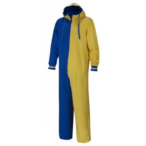Blå/Gul Sverige Jumpsuit