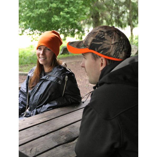 Grå/Orange Camo Jaktkeps Exempel