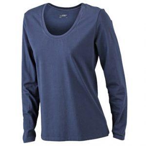 Sävsjö PK Marinblå Långärmad T-shirt Stretch