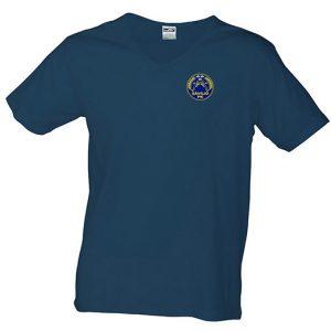 Sävsjö PK Marinblå T-shirt V-hals
