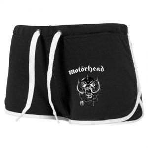 Svarta Hotpants Motörhead Logo
