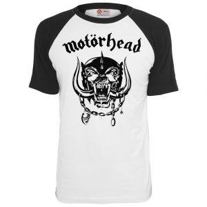 Vit/Svart T-shirt Motörhead