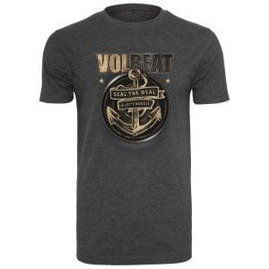Mörkgrå T-shirt Volbeat Seal The Deal