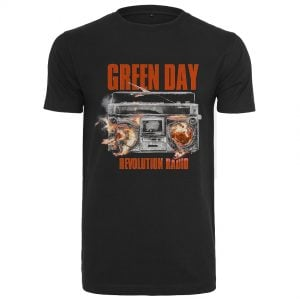 Svart T-shirt Green Day Radio