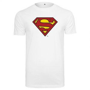 Vit T-shirt Superman Logo