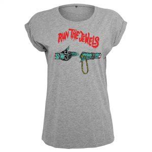 Grå T-shirt Run The Jewels Goldchain