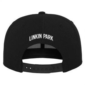 Svart Keps Linkin Park Logo Snapback Baksida