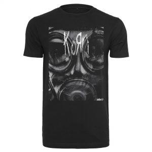 Svart T-shirt Korn Asthma