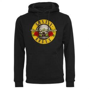 Svart Hoodtröja Guns n' Roses Logo