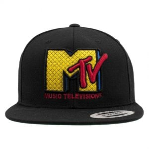Svart Keps MTV Quilt Snapback