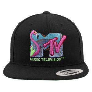 Svart Keps MTV Flamingo Snapback