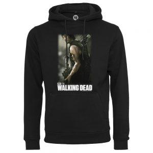 Svart Hoodtröja The Walking Dead Daryl