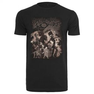 Svart T-shirt My Chemical Romance On Parade