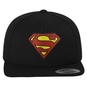 Svart Keps Snapback Superman
