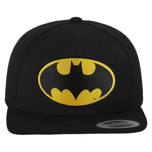 Svart Keps Snapback Batman