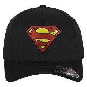 Svart Keps Flexfit Superman