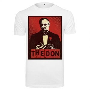 Vit T-shirt The Godfather The Don