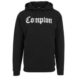 Svart Hoodtröja Compton