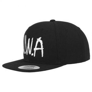 Svart Keps Snapback N.W.A Logo
