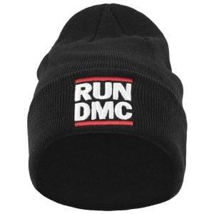 Svart Mössa RUN DMC Logo