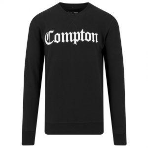Svart Collegetröja Compton