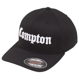 Svart Keps Flexfit Compton