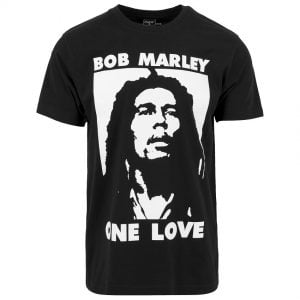 Svart T-shirt Bob Marley One Love