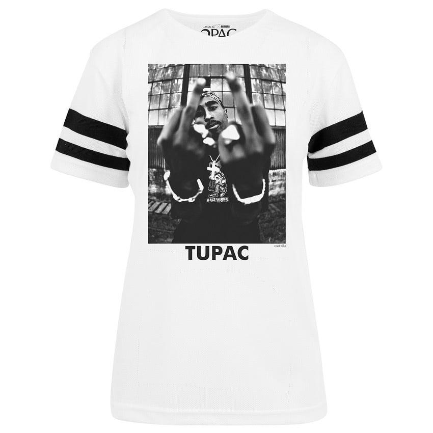 T shirt Tupac Stripes | Dam