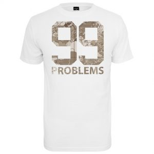 Vit T-shirt 99 Problems Desert Camo